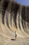 Australia occidentale di roccia di Wave Immagini Stock Libere da Diritti