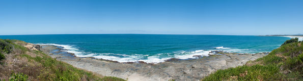 Australia ocean panorama landscape Royalty Free Stock Photos