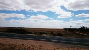 Australia Outback And Highway Stock Images
