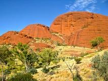 Australia Outback Olgas canyon Stock Photo