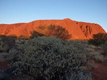 Australia, outback, Uluru Royalty Free Stock Photography