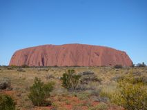 Australia, outback, Uluru Stock Photography