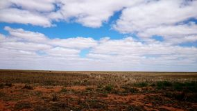 Australia Outback. View of Australia Outback in South Australia and Victoria Stock Image