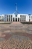 Australia Parliament House Mosaic Royalty Free Stock Photography