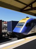 Australia: passenger and freight trains Stock Photos