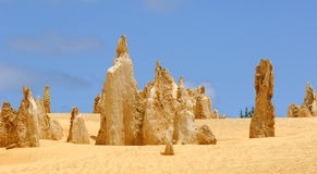 Australia: Pinnacles desert Royalty Free Stock Image