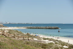 australia plażowy cottesloe Perth western Obraz Royalty Free