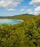 australia plaża whitehaven Obraz Royalty Free