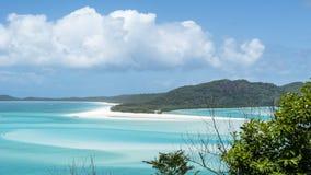 australia plaża whitehaven Fotografia Royalty Free