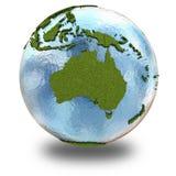 Australia on planet Earth Stock Photos