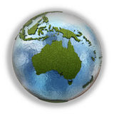 Australia on planet Earth Royalty Free Stock Photo