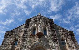 australia podpalani kościół katolicki watsons Obrazy Royalty Free