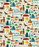 Australia podróży set royalty ilustracja