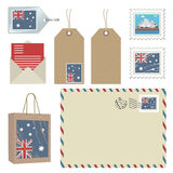 Australia postage Royalty Free Stock Photography