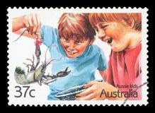 AUSTRALIA - Postage Stamp royalty free stock photos