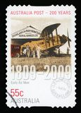 AUSTRALIA - Postage stamp royalty free stock image