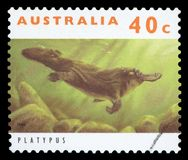 AUSTRALIA - Postage stamp royalty free stock photo