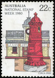Australia Postage stamp Royalty Free Stock Photography