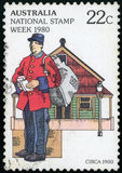 Australia Postage stamp Royalty Free Stock Images