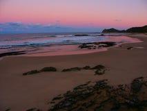 australia przewodzi nambucca zmierzch fotografia stock