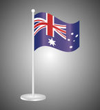 Australia related image. National flag australia related emblem image  illustration design Stock Photo