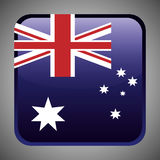 Australia related image. National flag australia related emblem image  illustration design Stock Image