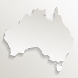 Australia related image. Territory outline australia related image  illustration design Stock Photo