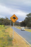 Australia, road sign Royalty Free Stock Images