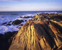 Australia Rocky coast Royalty Free Stock Image