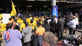 Australia Rugby Rugby World Cup 2011 supporters Royalty Free Stock Image