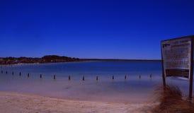 Australia: Rzadki jezioro wokoło kuli ziemskiej obrazy royalty free