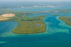 Australia's coastline royalty free stock image