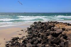 Australia's eastern coastline Stock Photo
