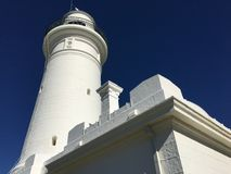 Australia's first lighthouse white brick Royalty Free Stock Image