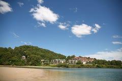 Australia's Gold Coast. Villas surrounding scenery of the Gold Coast, Australia Royalty Free Stock Photography