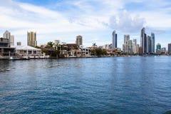 Australia's Gold Coast building Royalty Free Stock Photo