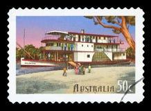 AUSTRALIA - sello fotografía de archivo libre de regalías