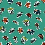 Australia set pattern Stock Photography
