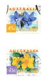 Australia stamps Stock Photos