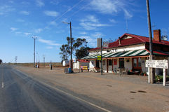 Australia state border petrol station Royalty Free Stock Photos