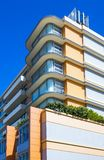 Australia, natural and urban landscapes. Australia, Sydney, architectures in pastels colors in Bondi district stock photos