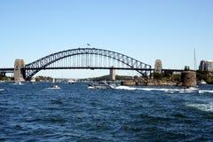 Australia Sydney Harbour. Sydney Harbour Bridge & Fort Denison, Sydney, Australia Stock Photo