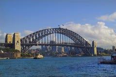 Australia, Sydney. Harbour Bridge in Sydney, Australia stock photo