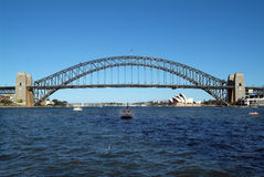 Australia - Sydney. Australia, Harbour Bridge and Opera in Sydney Stock Photos