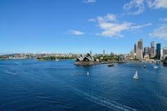 Australia sydney opera house. Opera house of australia and good view Royalty Free Stock Image