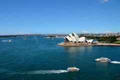 Australia sydney opera house. Opera house of australia and good view Royalty Free Stock Photography