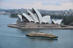Australia. Sydney. At the Opera View from the Bridge Bridge Hprbor , 2009 Stock Photography