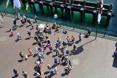 Australia, Sydney, Quay circular foto de archivo libre de regalías