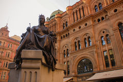 Australia Sydney Queen Victoria. Building Stock Photo