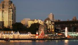 Australia Sydney Skyline. North Sydney skyline at night, Sydney, Australia Stock Photo